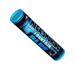 Двухсторонний Цветной Дым Mega Smoking Blue