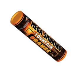 Двухсторонний Цветной Дым Mega Smoking Orange