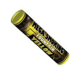 Двухсторонний Цветной Дым Mega Smoking Yellow