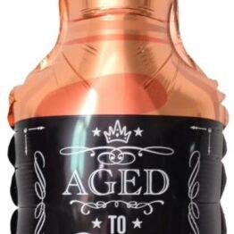 Шар фигура Бутылка виски с клапаном (16*41 см)